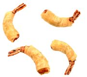 Crispy shrimp rolls Royalty Free Stock Image