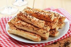 Crispy snacks Stock Photo