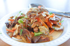 Crispy Spicy Salad, Thai food. Stock Image