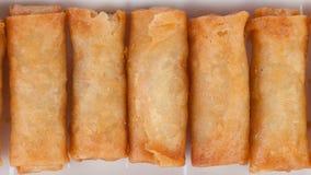 Crispy spring rolls Royalty Free Stock Photo