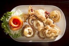 Crispy Squid Royalty Free Stock Photography