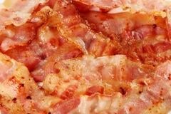 Crispy strips of bacon Stock Photos