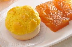 Crispy sweet bun Stock Images