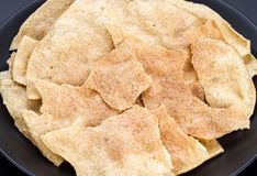 Crispy sweet rice cracker - Northern Thailand traditional snack Royalty Free Stock Image