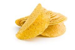 Crispy taco shells Stock Photos