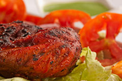 Crispy Tandoori Chicken. Crispy Tandoori Chicken is a kebab dish from India Royalty Free Stock Photo