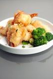 Crispy Thai Honey Shrimp Dish Stock Photos