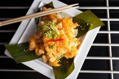 Crispy Thai Shrimp Dish Stock Image