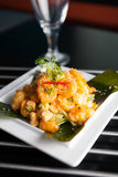 Crispy Thai Shrimp Dish Stock Image