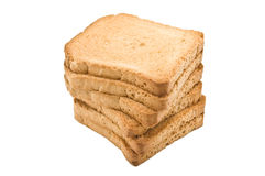 Crispy toast Royalty Free Stock Images