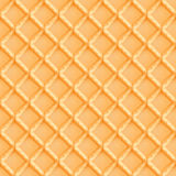 CRISPY WAFER TEXTURE FOR SEAMLESS PATTERNS AND BACKGROUNDS. This realistic pattern of crispy wafer cookies can be used both digitally and for printing, i.e.  for Royalty Free Stock Image