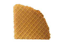 Crispy wafers Stock Photo