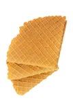 Crispy wafers Stock Photos