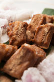 Crispy yam roll fight Ganxiang small row Royalty Free Stock Photography