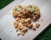 Crispy zboża & ryż Obrazy Royalty Free