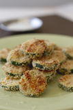 Crispy Zucchini Rounds Royalty Free Stock Photos