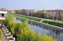 Crisrivier van Oradea Stock Fotografie