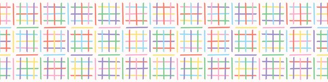 Criss十字架迷宫传染媒介样式 手拉的无缝的边界 向量例证