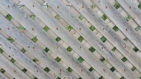 Criss Cross Fence Image libre de droits