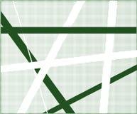 Criss Cross Halftone verde libre illustration