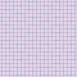 Criss cross line vector repeat pattern in pink, blue and purple royalty free illustration