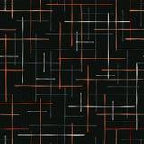 Criss Cross Lines Seamless Vetora abstrato ilustração royalty free