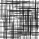 Criss cross pattern. Texture with intersecting straight lines. Digital hatching. Vector illustration Royalty Free Illustration