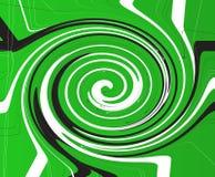Criss Cross Vortex Background verde libre illustration