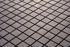 Criss-crossed Tiles Royalty Free Stock Photo