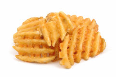 Criss cut fries Stock Photography