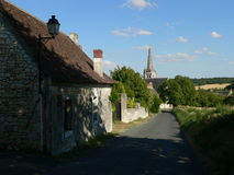 Crissay-sur-Manse ( France ) Stock Image