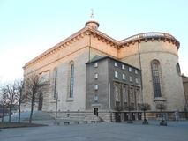 Crist the king cathedral, Katowice Royalty Free Stock Image