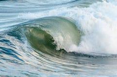 Crista de onda de Oceano Atlântico Imagem de Stock