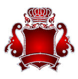 Crista do diamante ilustração royalty free
