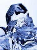 Cristais de gelo. Fotografia de Stock