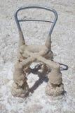 Cristais do sal no Mar Morto Imagens de Stock Royalty Free