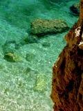 cristal海洋 免版税库存照片