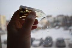 Cristal à disposicão imagens de stock royalty free