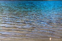 Cristal - água desobstruída Imagens de Stock Royalty Free