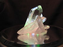 cristal βουνό Στοκ εικόνα με δικαίωμα ελεύθερης χρήσης