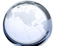 cristal κόσμος Στοκ φωτογραφία με δικαίωμα ελεύθερης χρήσης