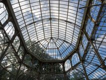 cristal παλάτι διανυσματική απεικόνιση