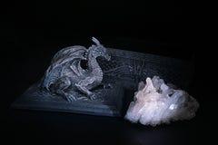 cristal дракон стоковые фото
