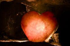 cristal сердце Стоковая Фотография RF