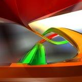cristal сплайны Стоковые Изображения RF