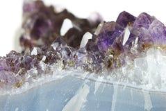 Cristal Amethyst Images libres de droits