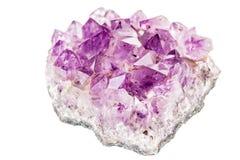 cristal amethyst Photographie stock libre de droits