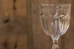 Cristal arcydzieła szklany szczegół Fotografia Royalty Free