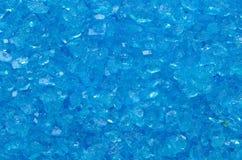 Cristal bleu Photos stock