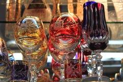 cristal bohemio Imagen de archivo libre de regalías
